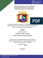 Gomez Condori Fiorela Condori Condori Betsi Lourdes