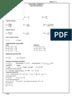 Formula de Unidad 3