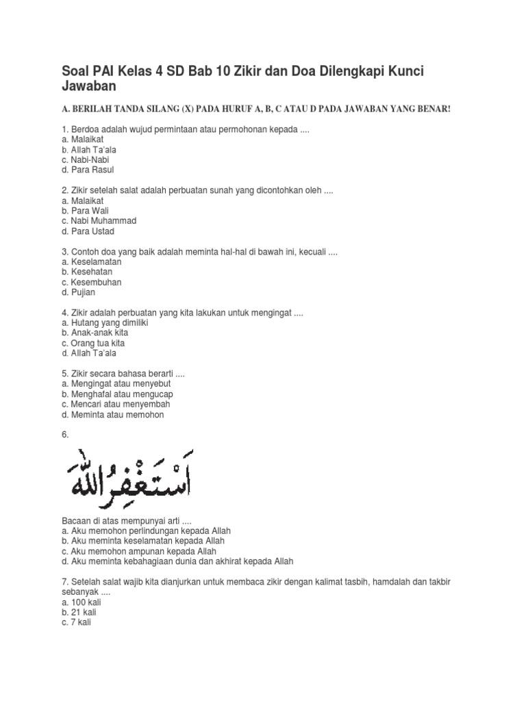 Soal 1 Pai Bab 5