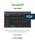 RandARP User Guide