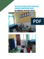 Foto Ruangan Dan Alkes Klinik Pratama Nusamedika Pesantren Baru