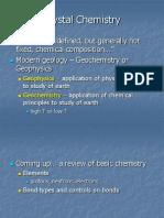 2.1 Crystal Chemistry (1)
