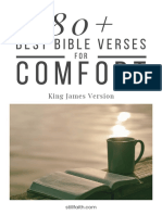 80+ Best Bible Verses for Comfort (KJV)