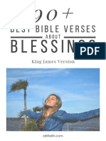 90+ Best Bible Verses About Blessings