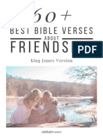 60+ Best Bible Verses About Friendship