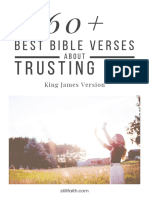 60+ Best Bible Verses About Trusting God