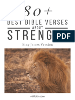 80+ Best Bible Verses About Strength