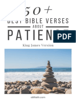 50+ Best Bible Verses About Patience