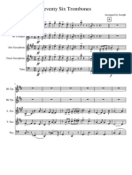 Seventy Six Trombones Maestro