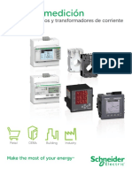 Medidores básicos y transformadores de corriente