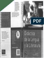MENDOZA FILLOLA_Didáctica de La Lengua y La Literatura