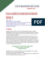 Coaching-Lenguaje y Distinciones