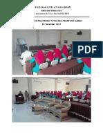 Dokumentasi Pelatihan Tatacara Tranfusi Darah