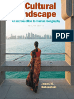 The Cultural Landscape an Introduction to Human Geography 12th Edition
