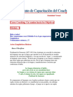 Coaching y Actos Linguisticos