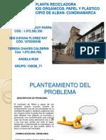 FORMULACION DE PROYECTOS A UN APLANTA RECICLADORA