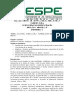 Informe ANATOMÍA, MORFOLOGÍA Y CLASIFICACIÓN DE LA FLOR Y EL FRUTO