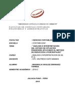 Analisis de Ee. Ff. Magnolia