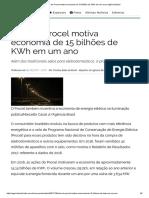 Selo do Procel motiva economia de 15 bilhões de KWh em um ano _ Agência Brasil.pdf