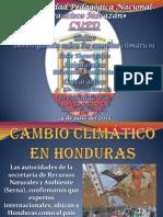 Cambio Climático en Honduras