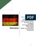 Aspectos Tecnologicos en Alemania