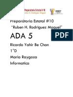 Ambiente Excel Ricardo Be