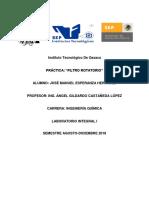PRAC 03 Filtro Rotatorio