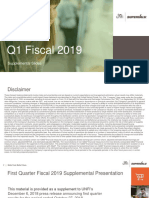 UNFI FY19 Q1 Supplemental Slides
