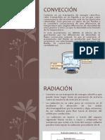 CONVECCION Y RADIACION(Transmision, Reflexion)
