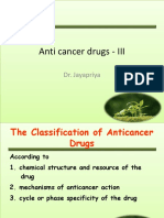 Anti Cancer Drugs - IIIclass
