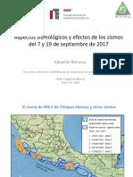01 Aspectos Sismologicos Efectos Sismos 19s 2017 Eduardo Reinoso