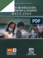 MODULO DE EDUCACION CAPACITACIÓN Y EMPLEO 2009