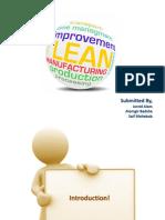 21 Lean Manufacturing
