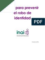 0 1 Guia Para Prevenir El Robo de Identidad