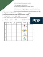 Latihan Geometri Dan Gaya Antar Molekul