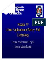 10 - Urban Application of Slurry Walls Technology - Final
