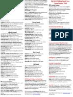 EFI MP命令表