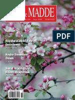 Ruh ve Madde Dergisi Nisan 2018
