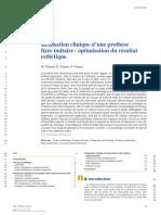 2014 Prothese Unitaire EMC Clement Noharet