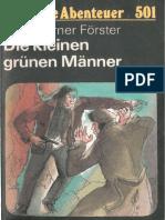 Das Neue Abenteuer 501 - O. W. Förster - Die Kleinen Grünen Männer