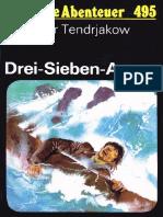 Das Neue Abenteuer 495 - Wladimir Tendrjakow - Drei-Sieben-As
