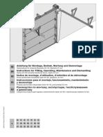 Montage Sectionaltor BR50 BT42 0218