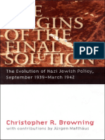 The Origins of the Final Solution. The Evolution of Nazi Jewish Policy September 1939-March 1942. Comprehensive History of the Holocaust .pdf