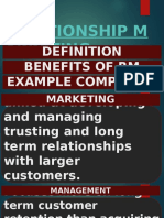Topic 6. Relationship Marketing