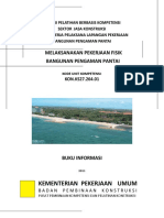 Melaksanakan Pekerjaan Fisik Bangunan Pengaman Pantai