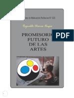 PROMISORIO FUTURO DE LAS ARTES
