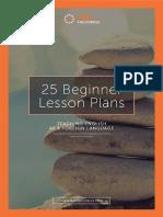 25 Beginner Lesson Plans.compressed
