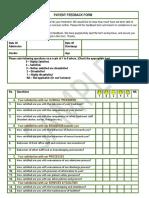 Patient Feedback Form