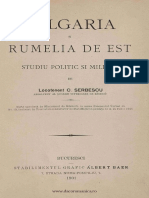 Bulgaria Si Rumelia