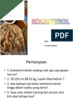 Kolesterol dan asam urat